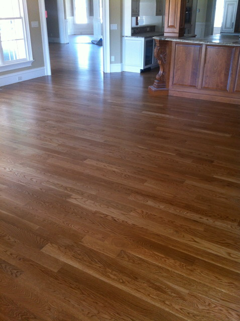 White Oak Select With Custom Border Traditional