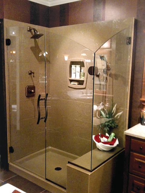 Onyx collection shower walls doors for Bathroom remodel 63367