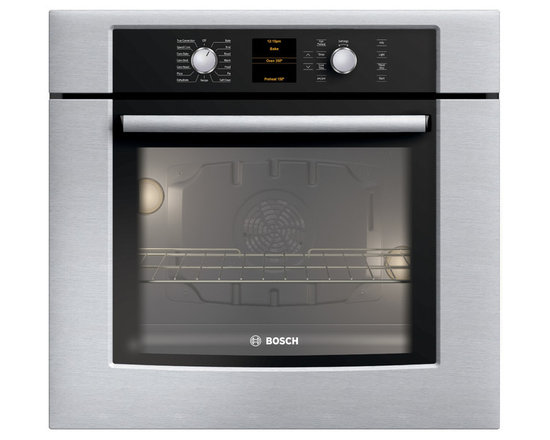 """Bosch 30"""" 500 Series Single Wall Oven With Convection, Stainless 