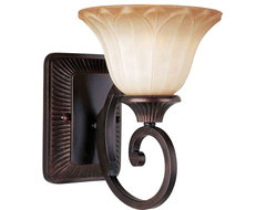 Maxim Lighting 13511WSOI Allentown Oil Rubbed Bronze Wall Sconce mediterranean-wall-sconces