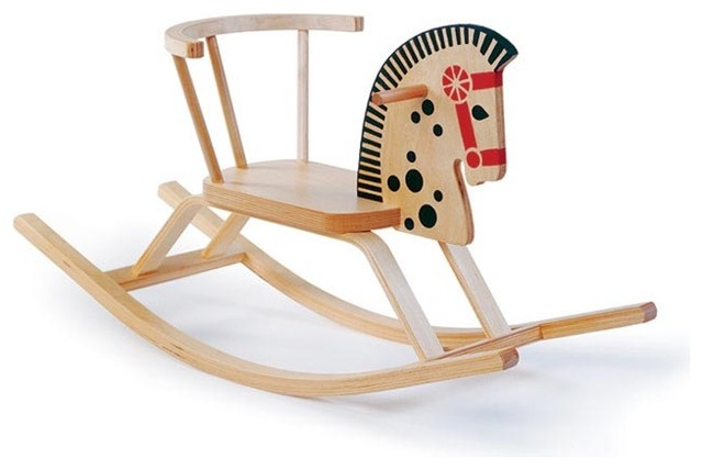 OFFI - Baltic Rocking Horse Chair modern rocking chairs
