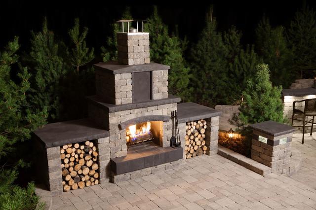 Barkman Stone Oasis Landscape Kits contemporary-patio