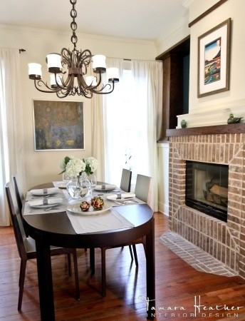 Pecan Residence eclectic-dining-room
