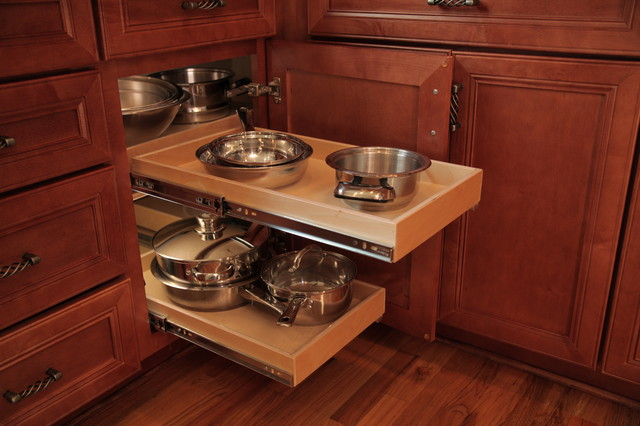 Kitchen Pull Out Shelves - Kitchen Drawer Organizers - other metro - by ShelfGenie National