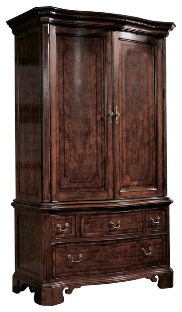 American Drew Cherry Grove Armoire In Antique Cherry
