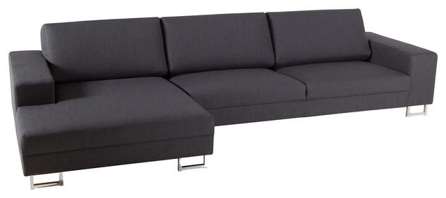Sits quattro sofa with chaise contemporary corner for Sofa quattro