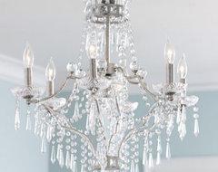 """La Fontaine"" Chandelier traditional-chandeliers"