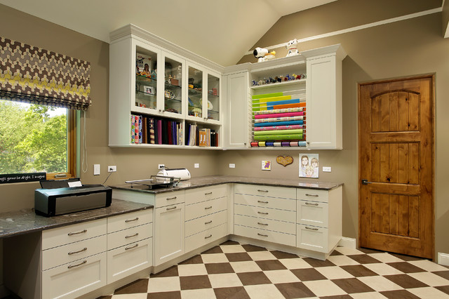 Craft Room traditional