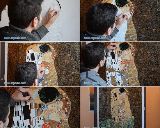 The Kiss | Klimt | Painting Reproduction -