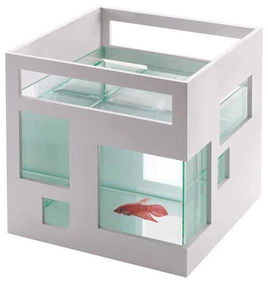 Teddy luong for umbra fish hotel modern pet supplies for Umbra fish hotel