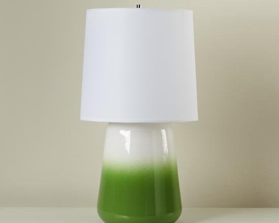 Gumdrop Lamp, Green -