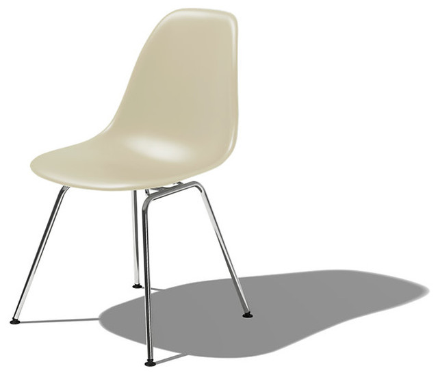 Eames Molded Plastic Side Chair Modern Dining Chairs  : modern dining chairs from www.houzz.com size 640 x 548 jpeg 25kB