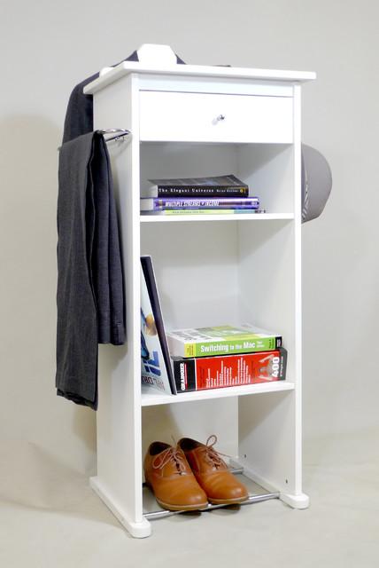 Nightstand Valet Stand closet-storage