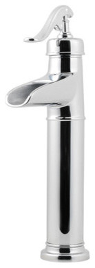Ashfield Single Hole Vessel Bathroom Faucet with Single Handle modern-bath-products