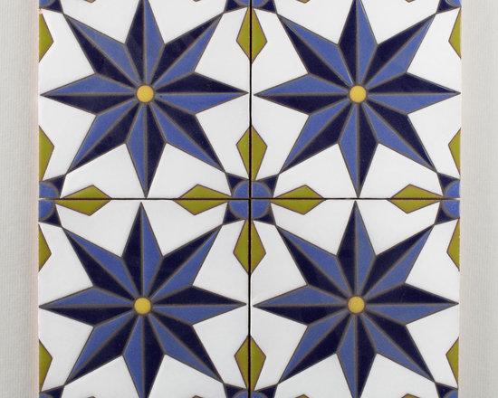 The Handpainted Classic Cuerda Seca Collection: Vitoria -