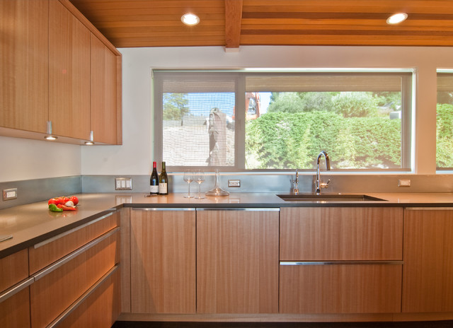 des moines mcm remodel modern kitchen seattle by