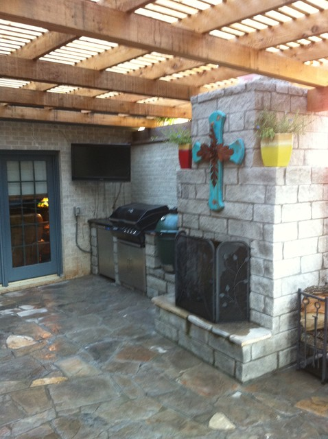 Previous completed projects eclectic-patio