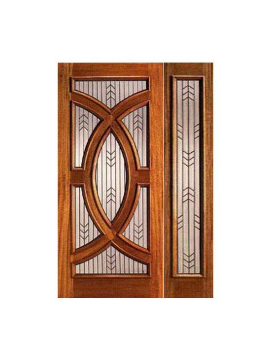 """Mahogany Prehung Single Door and Sidelite with Triple Glazed, Circle - SKU#PL-01_1-1BrandAAWDoor TypeExteriorManufacturer CollectionBudget DoorsDoor ModelDoor MaterialWoodWoodgrainMahoganyVeneerPrice2160Door Size Options[30""""+12"""" x 80""""] (3'-6"""" x 6'-8"""")  $0[36""""+12"""" x 80""""] (4'-0"""" x 6'-8"""")  +$20[30""""+12"""" x 96""""] (3'-6"""" x 8'-0"""")  +$450[36""""+12"""" x 96""""] (4'-0"""" x 8'-0"""")  +$470Core TypeSolidDoor StyleCircle , ModernDoor Lite StyleRadius LiteDoor Panel StyleHome Style MatchingContemporary , VictorianDoor ConstructionEngineered Stiles and RailsPrehanging OptionsPrehungPrehung ConfigurationDoor with One SideliteDoor Thickness (Inches)1.75Glass Thickness (Inches)3/4Glass TypeTriple GlazedGlass CamingBlackGlass FeaturesTempered , Insulated , BeveledGlass StyleGlue ChipGlass TextureGlass ObscurityDoor FeaturesDoor ApprovalsDoor FinishesDoor AccessoriesWeight (lbs)510Crating Size25"""" (w)x 108"""" (l)x 52"""" (h)Lead TimeSlab Doors: 7 daysPrehung:14 daysPrefinished, PreHung:21 daysWarranty"""