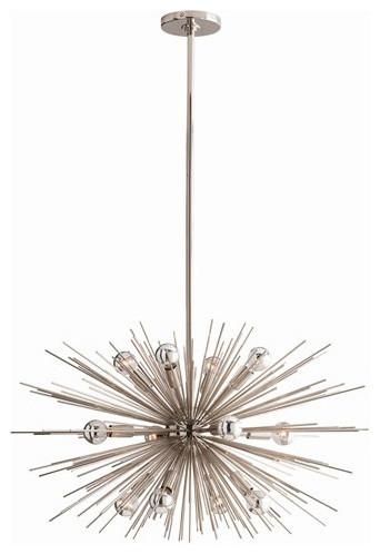 Zanadoo Chandelier by Arteriors Home midcentury-chandeliers