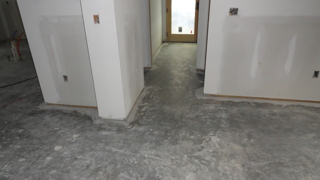 Concrete Acid Stain at Vacation Home (Monteagle TN.) contemporary