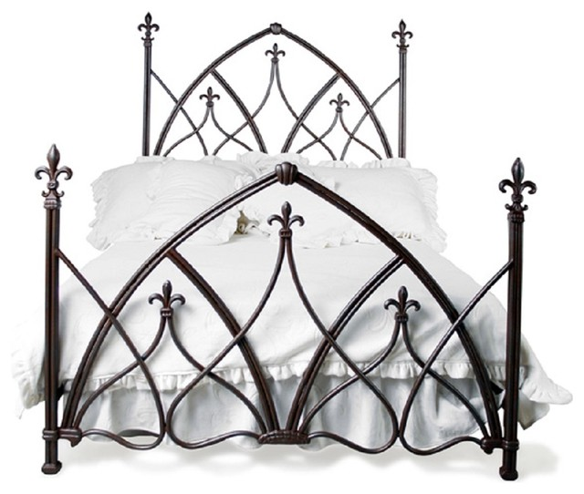 Custom Gothic Night Bed Queen Eclectic Beds By One Hudson Road