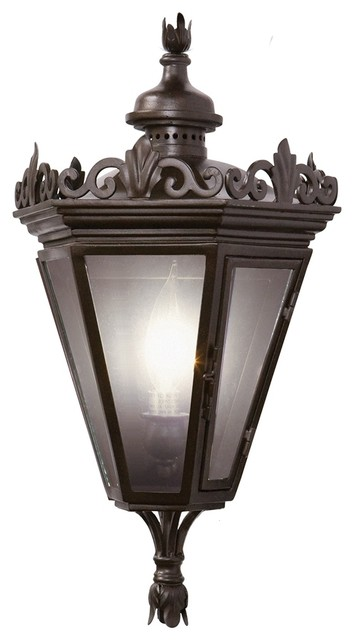"Country - Cottage Varaluz Corsica Collection 16"" High Outdoor Wall Light traditional-outdoor-lighting"
