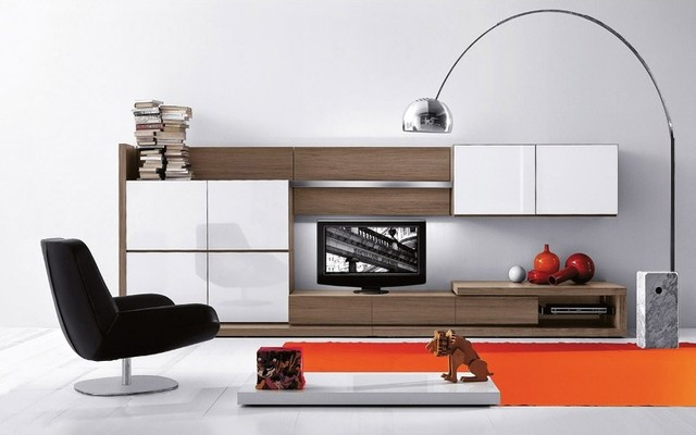 People Wall System 917 contemporary-wall-shelves