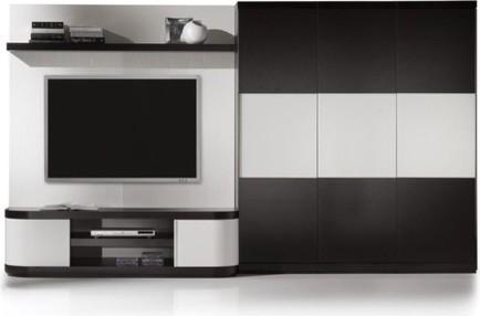 Vision V2-4 Wall Unit modern-media-storage