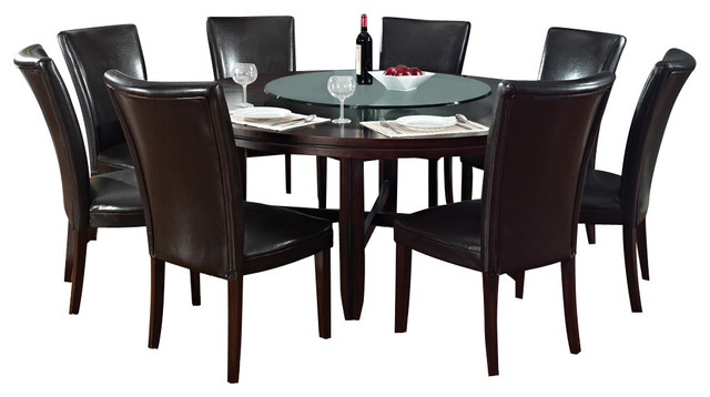 Steve silver hartford 10 piece 72 inch dining room set in for 10 piece kitchen table set