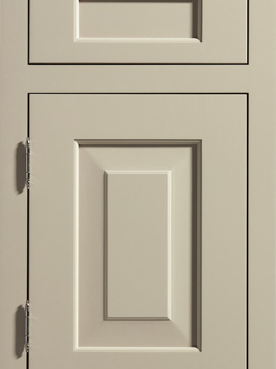 """Dura Supreme Cabinetry - Dura Supreme Cabinetry Hawthorne Inset Cabinet Door Style - Dura Supreme Cabinetry """"Hawthorne"""" inset cabinet door style in Paintable shown with Dura Supreme's """"Latte"""" paint finish."""