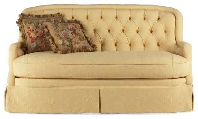 Outstanding Tufted Soupir Canape, Gold by Pierre Deux traditional-sofas 640 x 384 · 55 kB · jpeg
