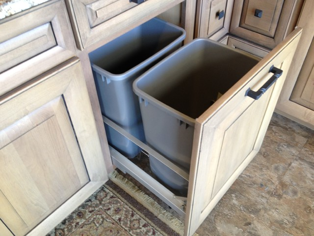 Cool Cabinet Features - Kitchen Cabinetry - other metro - by Hunts ...