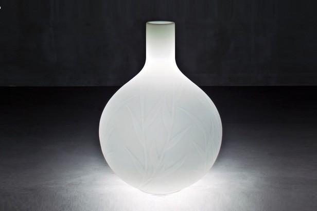 Princess Outdoor Pot with Light by Serralunga modern-outdoor-lighting