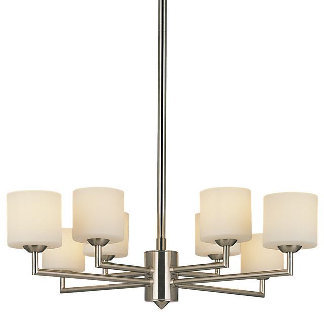 P8078 8 Light Chandelier by George Kovacs chandeliers