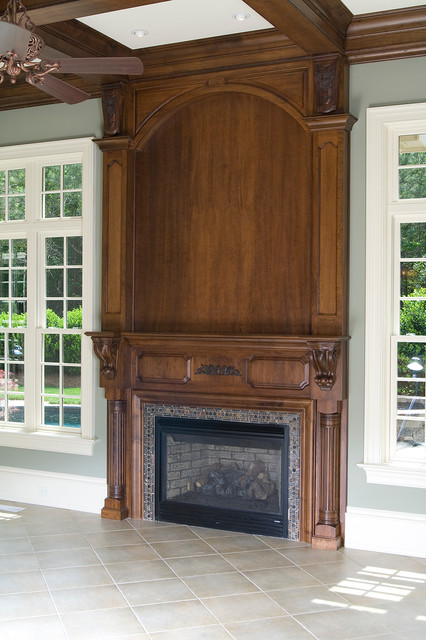 Kitchen and Bath Cabinets - Traditional - Fireplaces - other metro - by Cabinets Custom to ...