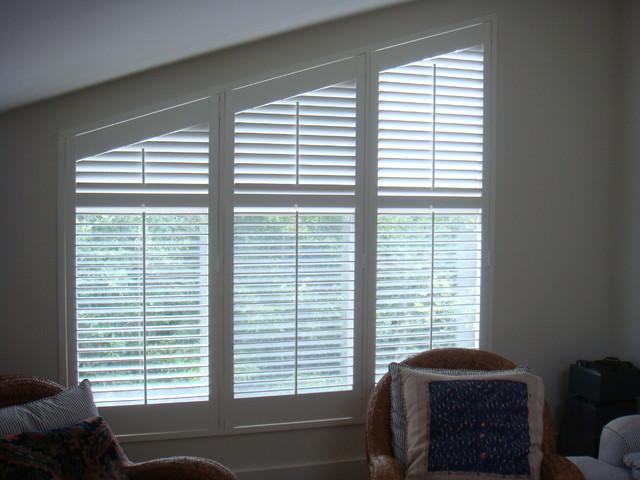 East Hampton - Custom Window Shutters traditional-window-treatments