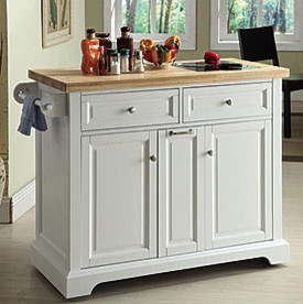 View White Kitchen Island Deals at Big Lots