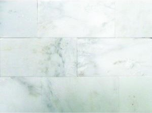 White Marble Floor Wall Tile Contemporary Tile By Home Depot