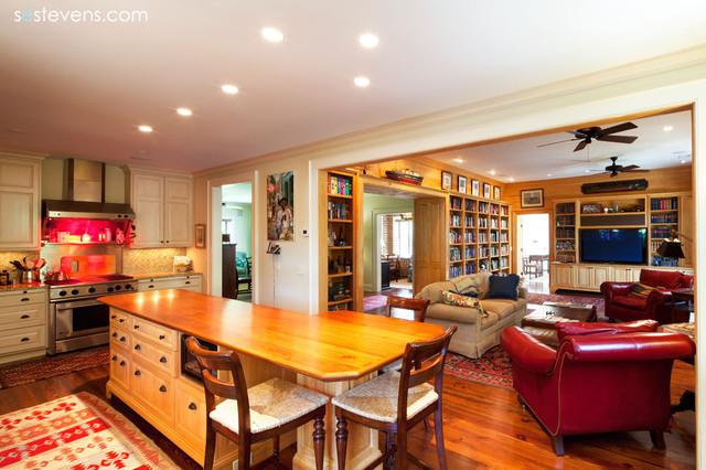 Chamberlain Residence traditional-kitchen