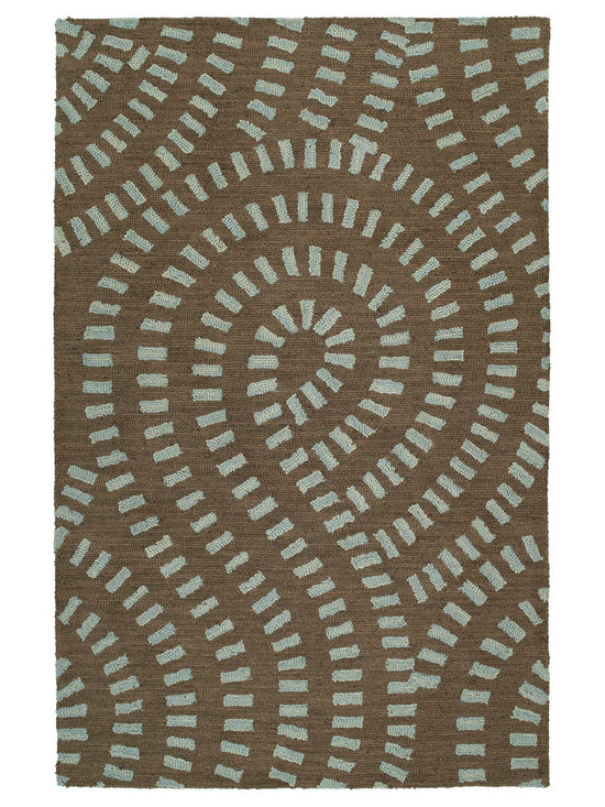 Kaleen - Kaleen Carriage Collection 6103-56 3' x 5' Spa - Carriage is a warm and casual rug as comfort and as much a part of the family as that favorite sweater.  As all Kaleen products Carriage is only made of the finest materials.  Hand Tufted Loop construction made in India of 100% Premium Virgin Wool.
