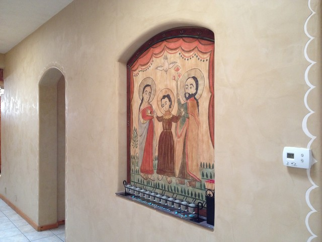 Fresco Harmony wall color Minor Sand Artwork by Reto Messmer