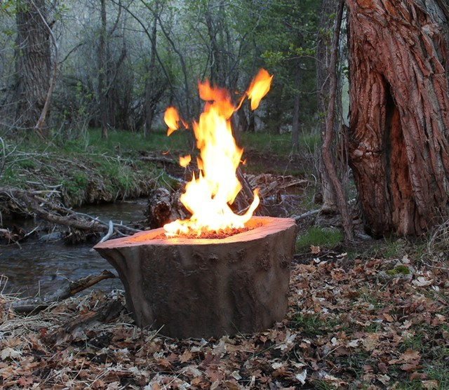 Sycamore Stump Firepit