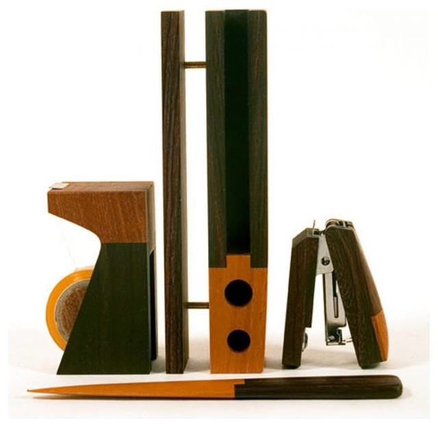 Singgih Kartono Desk Set Office - modern - desk accessories - by ...