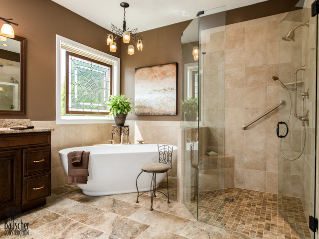 Classic bathrooms traditional bathroom cincinnati for Classic bathroom design
