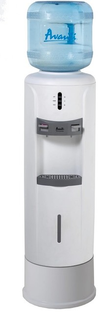 Avanti WD363P White Water Dispenser Hotncold Pedestal Cooler contemporary-kitchen-products