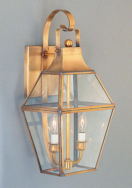 Period Outside Wall Lights : Federal Period Georgian Colonial Lantern - Traditional - Outdoor Wall Lights And Sconces ...