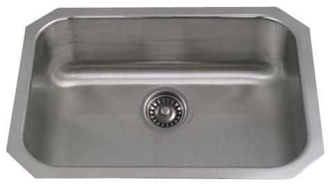 Whitehaus Wcus-2318 23 Undermount Kitchen Sink traditional-kitchen-sinks
