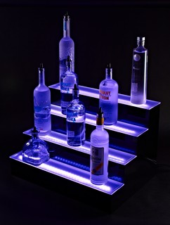 LED Liquor Cabinet Lighting - Modern - Bar Stools And Counter Stools ...