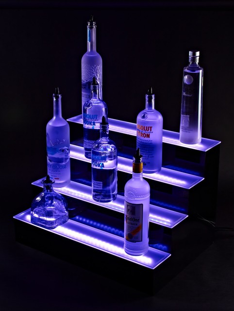 LED Liquor Cabinet Lighting - Modern - Bar Stools And Counter Stools - other metro - by Liquor ...