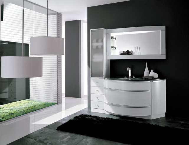 HARMONY 2 Serie - AB 507 modern bathroom vanities and sink consoles